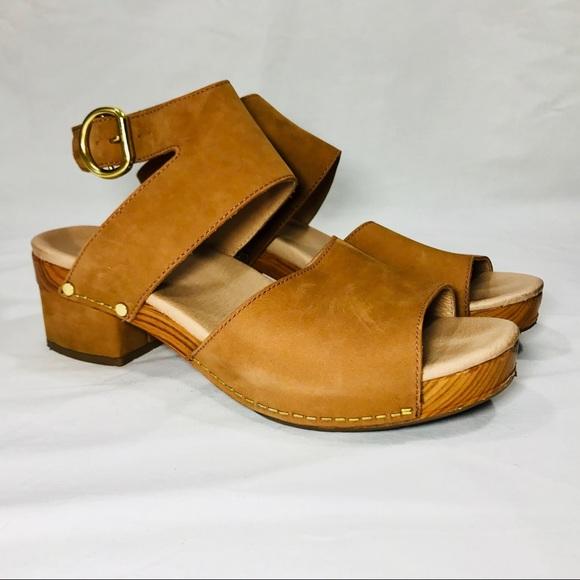 2ca5c2089c0 Dansko Shoes - Dansko Minka Tan Leather Sandal